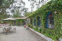 Patio at San Jorge Eco-Lodge, Quito, Ecuador