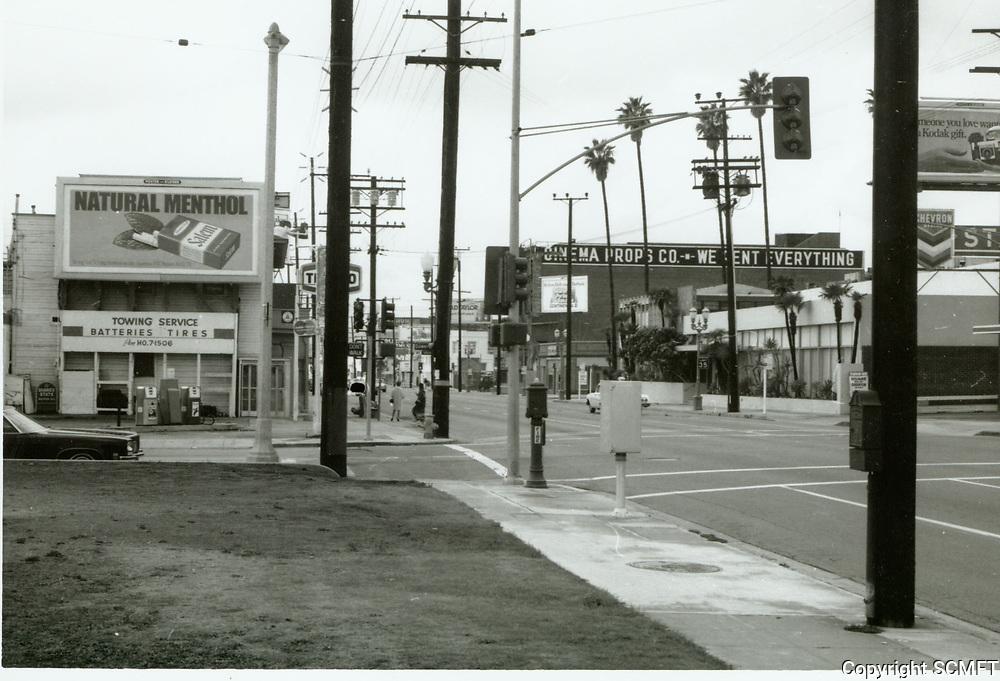 1971 Santa Monica Blvd. and Gower St.