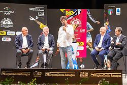 TALK SHOW CON ADRIANO GALLIANI WALTER SABATINI GIUSEPPE MAROTTA E MATTEO MARANI CALCIOMERCATO 2020 RIMINI<br /> RIMINI 01-09-2020<br /> FOTO FILIPPO RUBIN / MASTER GROUP SPORT
