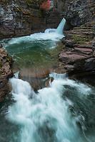 Saint Mary Falls Glacier National Park