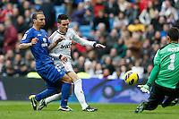 27.01.2013 SPAIN -  La Liga 12/13 Matchday 21th  match played between Real Madrid CF vs Getafe C.F. (4-0) at Santiago Bernabeu stadium. The picture show Jose Maria Callejon (Spanish midfielder of Real Madrid)