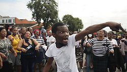 South Africa - Durban - 30 September 2020 -Textile Trade Call Investment workers in Durban were protesting after they were not paid their UIF Relief fund from the government.<br /> Picture: Bongani Mbatha/African News Agency(ANA)