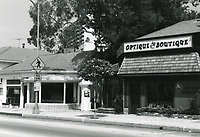 1973 Optique Boutique on Sunset Blvd.