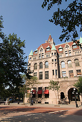 Minnesota, Twin Cities, Minneapolis-Saint Paul: The Landmark Building in downtown St Paul, by Rice Park.  This former Federal Building now hosts arts organizations..Photo mnqual291-75006..Photo copyright Lee Foster, www.fostertravel.com, 510-549-2202, lee@fostertravel.com.