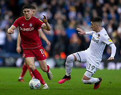 Callum O'Dowda of Bristol City and Pablo Hernandez of Leeds United - Mandatory by-line: Daniel Chesterton/JMP - 15/02/2020 - FOOTBALL - Elland Road - Leeds, England - Leeds United v Bristol City - Sky Bet Championship