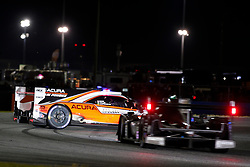 January 26, 2019 - Daytona, FL, U.S. - DAYTONA, FL - JANUARY 26: The #7 Acura Team Penske Acura DPi of Helio Castroneves, Ricky Taylor, and Alexander Rossi spins during the Rolex 24 at Daytona on January 26, 2019 at Daytona International Speedway in Daytona Beach, Fl. (Photo by David Rosenblum/Icon Sportswire) (Credit Image: © David Rosenblum/Icon SMI via ZUMA Press)