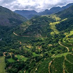 Paisagem rural (paisagem) fotografado em Burarama, distrito do município de Cachoeiro de Itapemirim, no Espírito Santo -  Sudeste do Brasil. Bioma Mata Atlântica. Registro feito em 2018.<br /> ⠀<br /> <br /> <br /> ENGLISH: Rural landscape photographed in Burarama, a district of the Cachoeiro de Itapemirim County, in Espírito Santo - Southeast of Brazil. Atlantic Forest Biome. Picture made in 2018.