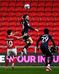 Jonathan Howson of Middlesbrough is challenged by Jamie Paterson of Bristol City - Rogan/JMP - 20/10/2020 - Ashton Gate Stadium - Bristol, England - Bristol City v Middlesbrough - Sky Bet Championship.