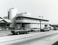1977 A & M Records, formerly Chaplin Studios on La Brea Ave.