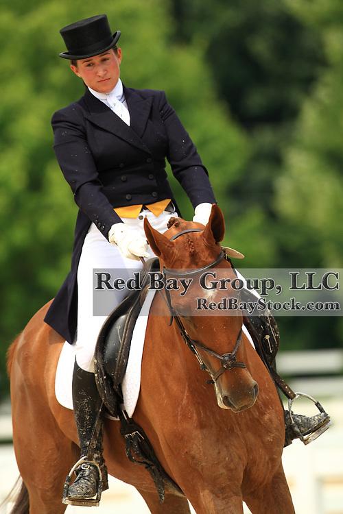 Lindsay Pearce and Tangle Top at the 2009 Maui Jim Horse Trials in Wayne, Illinois.