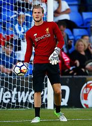 Loris Karius of Liverpool warms up - Mandatory by-line: Matt McNulty/JMP - 12/07/2017 - FOOTBALL - Prenton Park - Birkenhead, England - Tranmere Rovers v Liverpool - Pre-season friendly