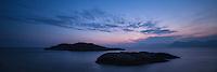 Small coastal islands near Henningsvær, Austvågøy, Lofoten Islands, Norway
