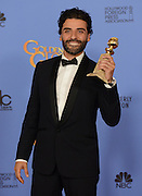OSCAR ISAAC @ the 73rd Annual Golden Globe awards held @ the Beverly Hilton hotel.<br /> ©Exclusivepix Media