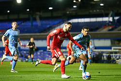Birmingham City's Ivan Sanchez surges into the opposition box - Mandatory by-line: Nick Browning/JMP - 20/11/2020 - FOOTBALL - St Andrews - Birmingham, England - Coventry City v Birmingham City - Sky Bet Championship