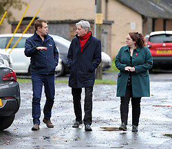 Pictured: Richard Leonard and Danielle Rowley are shown round the workshop by Airco director John Crawford.<br /> <br /> Scottish Labour leader Richard Leonard visited an air conditioning company in Midlothian with Labour's candidate in the Midlothian seat, Danielle Rowley.<br /> <br /> © Dave Johnston / EEm