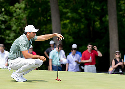 May 31, 2018 - Dublin, OH, U.S. - DUBLIN, OH - MAY 31: Jason Day during the first round of the Memorial Tournament at Muirfield Village Golf Club in Dublin, Ohio on May 31, 2018.(Photo by Jason Mowry/Icon Sportswire) (Credit Image: © Jason Mowry/Icon SMI via ZUMA Press)