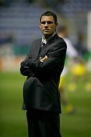 Photo: Steve Bond.<br /> Leicester City v Leeds United. Coca Cola Championship. 13/03/2007. Gus Poyet of Leeds