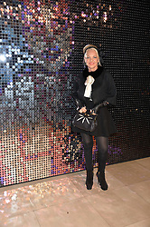 AMANDA ELIASCH at a private view of Isabella Blow: Fashion Galore! held at Somerset House, London on 19th November 2013.