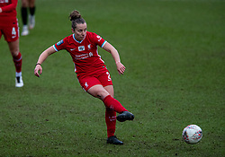 BIRKENHEAD, ENGLAND - Sunday, March 14, 2021: Liverpool's Becky Jane during the FA Women's Championship game between Liverpool FC Women and Coventry United Ladies FC at Prenton Park. Liverpool won 5-0. (Pic by David Rawcliffe/Propaganda)
