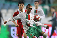 20100303: COIMBRA, PORTUGAL - Portugal vs China: International Friendly. In picture: Liedson (Portugal). PHOTO: CITYFILES