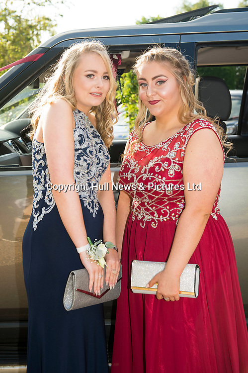 20 June 2019: Cleethorpes Academy Year 11 Prom at Brackenborough Hotel near Louth.<br /> (l-r) Holly Hanson and Rosie Crouch. <br /> Picture: Sean Spencer/Hull News & Pictures Ltd<br /> 01482 210267/07976 433960<br /> www.hullnews.co.uk         sean@hullnews.co.uk