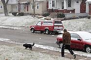 2012 - Spring snow in Dayton