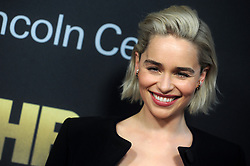 Emilia Clarke at Lincoln Center's American Songbook Gala held at Alice Tully Hall in New York City.