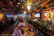 The Bullddog Saloon in downtown Whitefish, Montana, USA