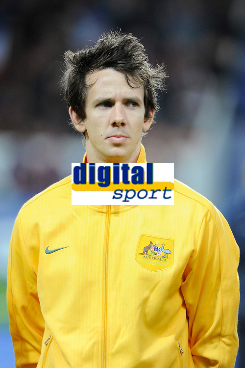 Australia's Robbie Kruse before the International football Friendly Game 2013/2014 between France and Australia on October 11, 2013 in Paris, France. Photo Jean Marie Hervio / Regamedia/ DPPI