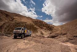 January 11, 2019 - Arequipa, Peru - AREQUIPA, PU - 11.01.2019: DAKAR 2019 - Eduard Nikolaev (RUS) during the Dakar Rally 2019, on Friday (11), in Arequipa, Peru. (Credit Image: © José MáRio Dias/Fotoarena via ZUMA Press)