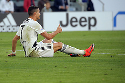 October 20, 2018 - Turin, Turin, Italy - Cristiano Ronaldo #7 of Juventus FC reacts to a missed chance during the serie A match between Juventus FC and Genoa CFC at Allianz Stadium on October 20, 2018 in Turin, Italy. (Credit Image: © Giuseppe Cottini/NurPhoto via ZUMA Press)