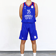 Anadolu Efes's Atahan Altiok during the 2020-2021 Garanti BBVA BGL Media Day at the Anadolu Efes Sports Hall on February 02, 2021 in İstanbul, Turkey. Photo by Aykut AKICI/TURKPIX