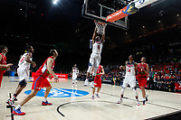 United States´s Gay and Davis  and Serbia´s Bjelica during FIBA Basketball World Cup Spain 2014 final match between United States and Serbia at `Palacio de los deportes´ stadium in Madrid, Spain. September 14, 2014. (ALTERPHOTOSVictor Blanco)