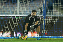 December 1, 2017 - Naples, Italy - Gianluigi Buffon of Juventus during warm up before the start of the Serie A match between SSC Napoli and Juventus at Stadio San Paolo on December 1, 2017 in Naples, Italy. (Credit Image: © Matteo Ciambelli/NurPhoto via ZUMA Press)