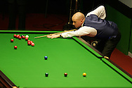 Peter Ebdon of England. Welsh Open Snooker at the Newport Centre, Feb 2009.