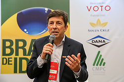 Brasil de Ideias, evento da Revista Voto recebe João Amoêdo, que é candidato a Presidência da República pelo partido Novo. FOTO: Marcos Nagelstein/Agência Preview