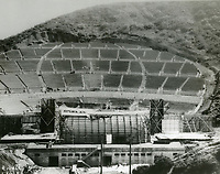 1926 Construction of the Hollywood Bowl
