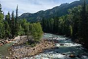 Photograph from the Weminuche Wilderness, San Juan National Forest, near Silverton, La Plata County, Colorado, USA.