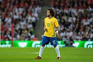 Brazil (12) Marcelo during the International Friendly match between England and Brazil at Wembley Stadium, London, England on 14 November 2017. Photo by Sebastian Frej.