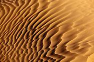 Diagonal desert sand pattern in the Sahara desert.
