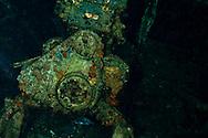 Engine room, Carthaginian, Maui Hawaii