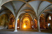 The refectory room of the Alcobaça Monastery, Alcobaça, Portugal. PHOTO PAULO CUNHA/4SEE