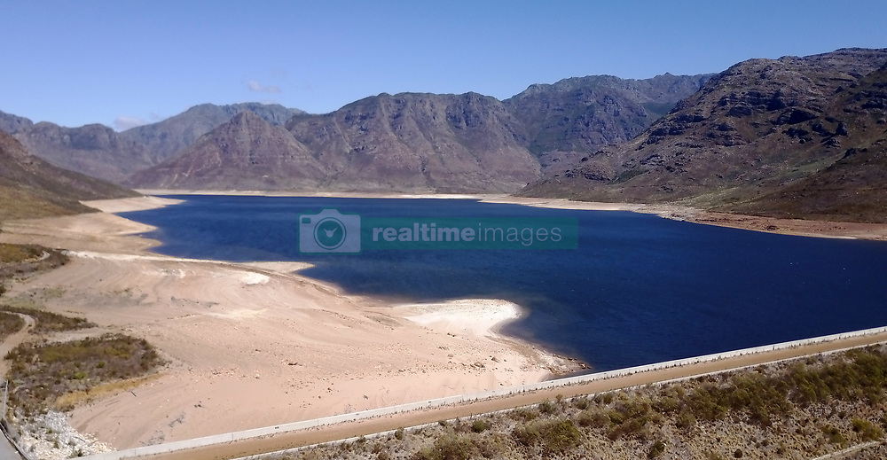 This image is of the Berg River Dam.  The dam is one of the six that supply Cape Town with its water supply.  On the 3rd March 2017 the City of Cape Town declared the drought a local disaster.  The dam levels are currently at 31% with the last 10% effectively unusable this means Cape Town water levels are at 21%.  This leaves the city with around 113 days of water left.<br /> <br /> Photo by:  Ron Gaunt / RealTime Images