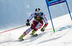 BRENNSTEINER Stefan of Austria competes during the Audi FIS Alpine Ski World Cup Men's Giant Slalom 58th Vitranc Cup 2019 on March 9, 2019 in Podkoren, Kranjska Gora, Slovenia. Photo by Matic Ritonja / Sportida