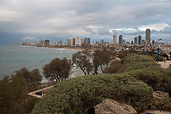 General view of the coast in Tel Aviv. Train & Travel is a unique ten day program designed for IKMF's instructors, students & guests, interested in combining Krav Maga training with a tour of the holy land..©2011 Michael Schofield. All Rights Reserved.