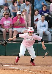 13 April 2010: Jessica Roche. The Illini of Illinois knock off the Illinois State Redbirds 5-1 on the campus of Illinois State University in Normal Illinois.
