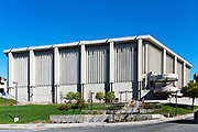Carrier Dome exterior on the campus of Syracuse University, New York, USA
