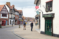 People out  in stratford upon avon 04/04/20 photo by Mark Anton Smith