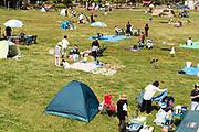 family day picnic park Yokosuka Japan