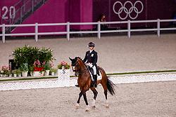 Pauluis Larissa, BEL, Flambeau, 110<br /> Olympic Games Tokyo 2021<br /> © Hippo Foto - Stefan Lafrentz<br /> 24/07/2021
